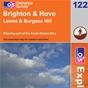 OS Explorer Map 122 Brighton & Hove