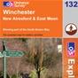 OS Explorer Map 132 Winchester