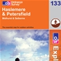 OS Explorer Map 133 Haslemere & Petersfield