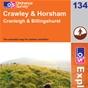 OS Explorer Map 134 Crawley & Horsham