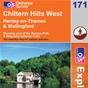 OS Explorer Map 171 Chiltern Hills West