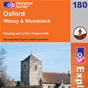 OS Explorer Map 180 Oxford