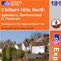 OS Explorer Map 181 Chiltern Hills North