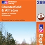 OS Explorer Map 269 Chesterfield & Alfreton