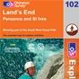 OS Explorer Map 102 Land's End