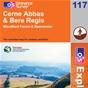 OS Explorer Map 117 Cerne Abbas & Bere Regis