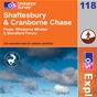 OS Explorer Map 118 Shaftesbury & Cranborne Chase