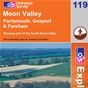 OS Explorer Map 119 Meon Valley