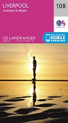 OS Landranger Map 108 Liverpool