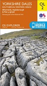 OS Explorer Map OL 2 Yorkshire Dales: S & W areas