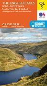 OS Explorer Map OL 5 The Lake District: NE area