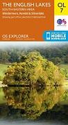 OS Explorer Map OL 7 The Lake District: SE area