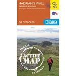 OS Explorer Active - 43 - Hadrian's Wall