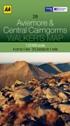 AA Walker's Map - Aviemore & Central Cairngorms