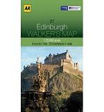 AA Walker's Map - Edinburgh