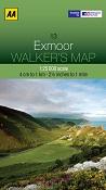 AA Walker's Map - Exmoor