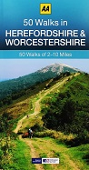 AA 50 Walks in Herefordshire and Worcestershire