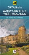 AA 50 Walks in Warwickshire & West Midlands