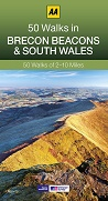 AA 50 Walks in Brecon Beacons & South Wales