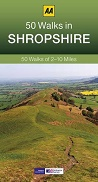 AA 50 Walks in Shropshire