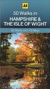AA 50 Walks in Hampshire & the Isle of Wight