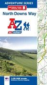 North Downs Way - A-Z Adventure Atlas