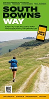 South Downs Way: Easy-to-use folding map and essential information