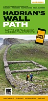 Hadrian's Wall Path: Easy-to-use folding map and essential information