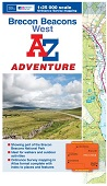Brecon Beacons West - A-Z Adventure Atlas