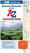 Brecon Beacons East - A-Z Adventure Atlas