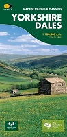 Yorkshire Dales - Map for Touring & Planning