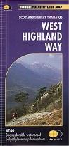 West Highland Way - Harvey Map