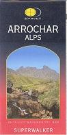 Arrochar Alps - Superwalker map