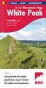 White Peak British Mountain Map