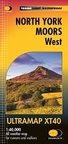 North York Moors West - Harvey Ultramap XT40