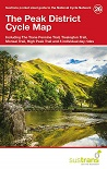 Peak District Cycle Map - inc Trans Pennine, Tissington, Monsal, High Peak Trails...