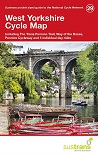 West Yorkshire Cycle Map - Trans Pennine, Way of Roses, Pennine Cycleway...