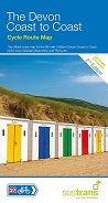 The Devon Coast to Coast Sustrans Cycle Route Map