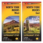 North York Moors Harvey Ultramap - Map Bundle East & West