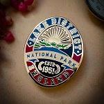 Lake District Heritage Enamel Pin Badge