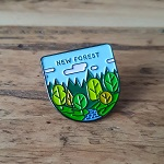 New Forest National Park Enamel Pin