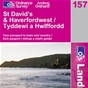 OS Landranger Map 157 St David�s & Haverfordwest