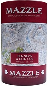 Ben Nevis and Glen Coe: Mazzle Map Jigsaw Puzzle