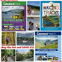 Lake District Walking Guide Set (3 volumes)