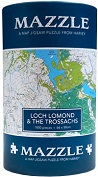 Loch Lomond and the Trossachs: Mazzle Map Jigsaw Puzzle