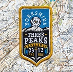 Yorkshire Three Peaks Challenge patch