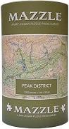 Peak District: Mazzle Map Jigsaw Puzzle