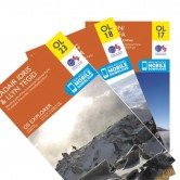 Snowdonia OS Map Bundle