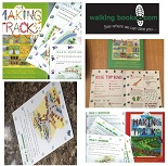 Making Tracks in Yorkshire - 22 fun walks for children (2 volume set)