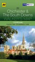 AA Walker's Map - Chichester & The South Downs